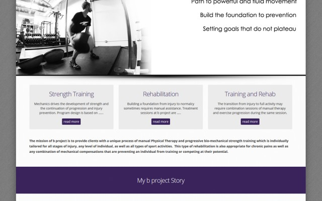 bprojectphysicaltherapy.com