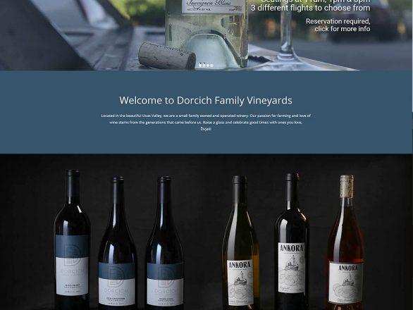 Dorcich Family Vineyards - Silver Sun Marketing Agency